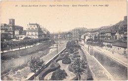 42. RIVE-DE-GIER. Eglise Notre-Dame. Quai Fleurdelix. 12 - Rive De Gier