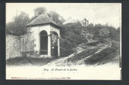 CPA - HUY - Le Chemin De La Sarthe   // - Huy