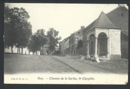 CPA - HUY - Le Chemin De La Sarthe - 6me Chapelle - G.H. Edit. N. 1114  // - Huy