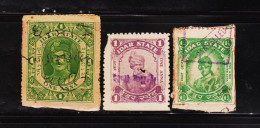 INDIAN PRINCELY STATE IDAR 3 DIFF REVENUE RARE FISCAL STAMPS SEE SCAN FOR COND. ##D1 - India