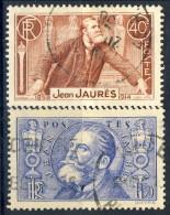 Francia 1936 Serie N. 318-319 F. 1,50 Oltremare Usati Catalogo € 5,60 - Oblitérés