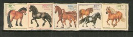 ALLEMAGNE 1997  CHEVAUX  YVERT N°1752/56  NEUF MNH** - Caballos
