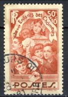 Francia 1936 N. 312 C. 50+10 Usato Catalogo € 5,35 - Oblitérés