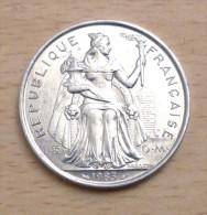 NOUVELLE CALEDONIE 5 FRANCS 1983 - Nouvelle-Calédonie