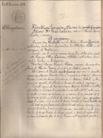 Plogastel Saint Germain St Notaire Le Bihan 29 Finistère 1909 Kerloch Rhun Plovan Pouldreuzic - Documents Historiques