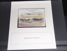 TRINITE ET TOBAGO - Bloc Luxe Avec Texte Explicatif - Belle Qualité - À Voir -  N° 11761 - Trinité & Tobago (1962-...)