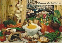 Recipe -  Recette De L`Aïoli.  France.   # 04906 - Recipes (cooking)