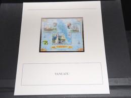 VANUATU - Bloc Luxe Avec Texte Explicatif - Belle Qualité - À Voir -  N° 11767 - Vanuatu (1980-...)