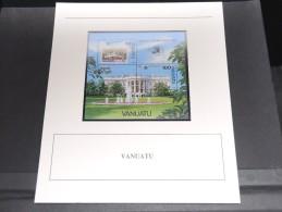 VANUATU - Bloc Luxe Avec Texte Explicatif - Belle Qualité - À Voir -  N° 11768 - Vanuatu (1980-...)