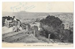 Cpa: ALGERIE - ORAN Vue Générale Prise Du Bélvédère (animée) 1918  N° 372 (rare) - Oran