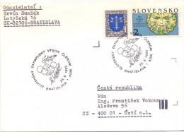 JUGOSLAVIA OLYMPIC GAMES 1993 BRATISLAVA  (M160129) - Giochi Olimpici