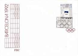 BARCELLONA FDC OLYMPIC GAMES  1992  (M160132) - Giochi Olimpici