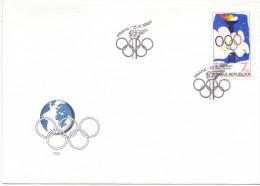 PRAHA 1994 OLYMPIC GHAMES  FDC  (M160134) - Giochi Olimpici