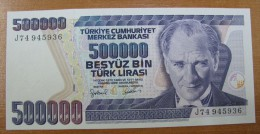 AC - TURKEY - 7th EMISSION 500 000 TL J 74 945 936 RARE UNCIRCULATED - Turquie