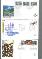 PAYS BAS Année 1991 En FDC  (12 Env.) - FDC