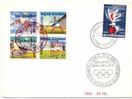 BRUSSEL BRUXELLES OLYMPIC GAMES 1964 TOKIO    (M160136) - Giochi Olimpici