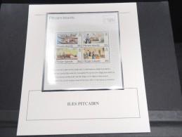 ILES PITCAIRN - Bloc Luxe Avec Texte Explicatif - Belle Qualité - À Voir -  N° 11786 - Timbres