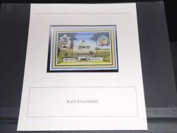 ILES SALOMON - Bloc Luxe Avec Texte Explicatif - Belle Qualité - À Voir -  N° 11789 - Salomon (Iles 1978-...)