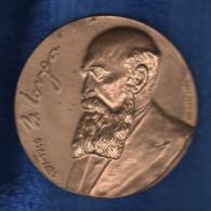 Romania / Medal Ø60 Mm / Nicolae Iorga / Tombac, 105 G - Tokens & Medals