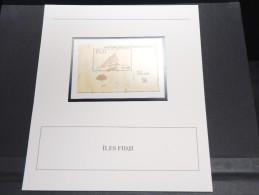 ILES FIDJI - Bloc Luxe Avec Texte Explicatif - Belle Qualité - À Voir -  N° 11794 - Fidji (1970-...)