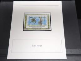 ILES FIDJI - Bloc Luxe Avec Texte Explicatif - Belle Qualité - À Voir -  N° 11795 - Fidji (1970-...)