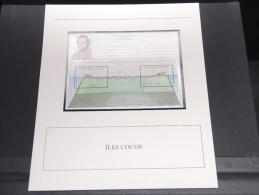 ILES COCOS - Bloc Luxe Avec Texte Explicatif - Belle Qualité - À Voir -  N° 11797 - Cocos (Keeling) Islands