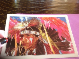 Usa Montana Indiens - Etats-Unis