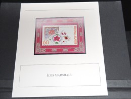 ILES MARSHALL - Bloc Luxe Avec Texte Explicatif - Belle Qualité - À Voir -  N° 11804 - Marshall