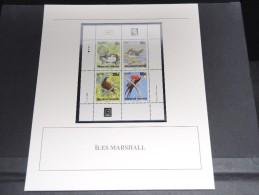 ILES MARSHALL - Bloc Luxe Avec Texte Explicatif - Belle Qualité - À Voir -  N° 11807 - Marshall