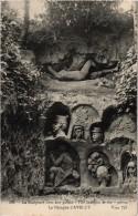 RARE - La Sculpture De Nos Poilus - La Nymphe D'AVELUY (80) Carte Postée - Sculture