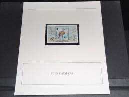 ILES CAIMANS - Bloc Luxe Avec Texte Explicatif - Belle Qualité - À Voir -  N° 11808 - Iles Caïmans