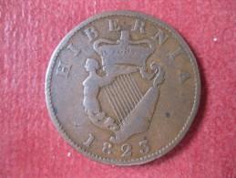 IRLANDE. 1/2 PENNY 1823. GEORGE IV. KM# 150 - Ireland
