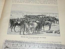 Burren Kommandos Ireland Engraving Print /from 1900 Expositions De Paris France/ - Prints & Engravings
