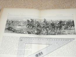 Englisch Soldiers Koorn Spruit Africa Krieg War Afrika Engraving Print /from 1900 Expositions De Paris France/ - Prints & Engravings