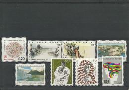 Nations-Unies - Genève 119/126 - Année 1984 Complète - Timbres