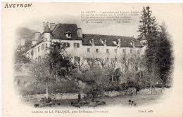 Chateau De LA FALQUE , Près St Géniez - Poeme De Ed. Raihac (85399) - Non Classés
