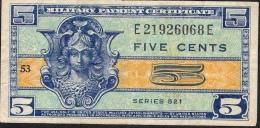 U.S.A.  PM29  5 CENTS  1954-1958   AVF  NO P.h. ! - 1954-1958 - Series 521