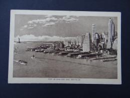 Port De NEW-YORK Avec Gratte-ciel - NY - New York