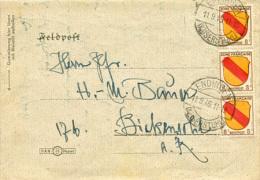 K3665 Brief Franz. Zone St. Endingen N.  Bickensohl Feldpost Aufbrauch - Französische Zone