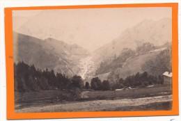 SEMMERINGBAHN, Autriche, Austria  - CDV - Schottwien, V. D. Station Klamm Gesehem - Anciennes (Av. 1900)