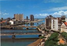 BRASIL, RECIFE, Vista Parcial Com Rio Capibaribe, 2 Scans - Recife