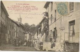 07/ La SOuche Vue Dans Le Village , Par Sa Situation Au Pied Du Tannargue.. Serie Ardeche Pittoresque - France