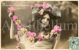 Postcard / CP / Postkaart / Femme / Woman / Lady / R. Moreau / Paris / No 532 / 1908 - Femmes