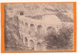 SEMMERINGBAHN, Autriche, Austria  - CDV - Viaduct über Die Kalte Rinne - Photos