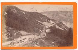 SEMMERINGBAHN, Autriche, Austria  - CDV - Station Semmering - Photos