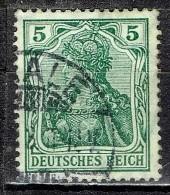 Deutsches Reich - Mi-Nr 85 I Gestempelt / Used (B1175) - Gebraucht