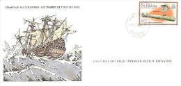 58192)  FDC DELLE-SEYCHELLES-BICENTENNARIO DELLA VITTORIA-1978 - Seychelles (1976-...)