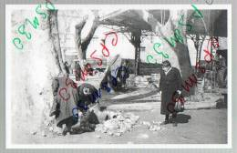 30 Gard - Nimes - St Charles Boulevard Gambetta - Mars 1956 (photo Perso) Tirage 20 Exemplaires - Nîmes