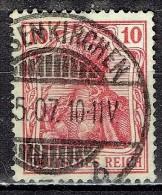 Deutsches Reich - Mi-Nr 86 I Gestempelt / Used (B1176) - Gebraucht