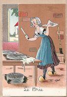 X77026 Barré & Dayez 1397 N Illustration GEROL Série FROMAGE Le BRIE De Meaux French Cheese -Dépot 1945-4 N°574 - Illustrators & Photographers